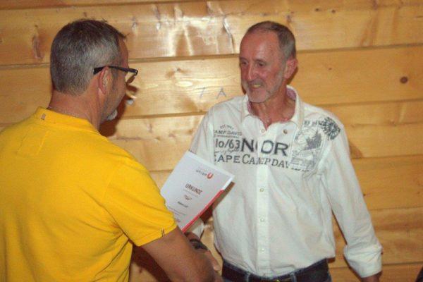 Ludl Robert: USC Mitglied seit 1970 - Ehrenzeichen in Silber